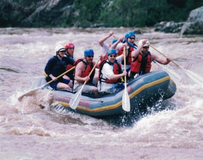 Whitewater rafting in NC